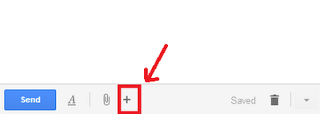 More options on Gmail Compose