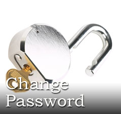 WordPress password change