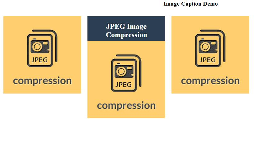 Image Caption Effects with CSS