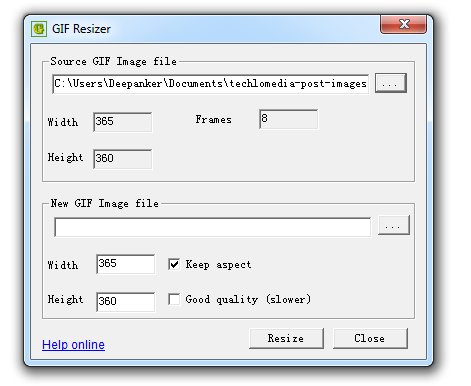Gif resizer lets you resize animated gif images tweet negle Image collections