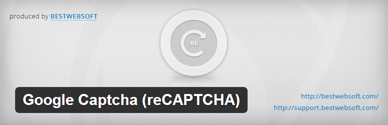 reCaptcha to add Captch to WordPress