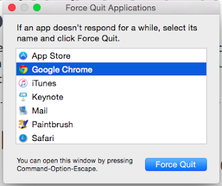 How to Force Quit Applications on Mac