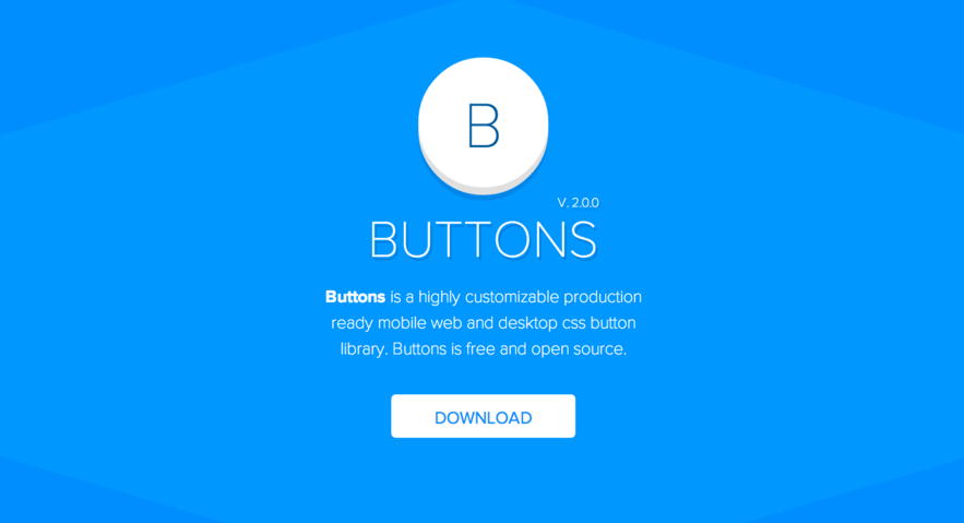 Buttons: button library built with Sass