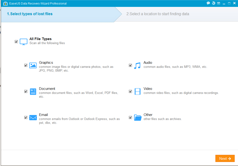 EaseUS Data Recovery Wizard is a Free tool you must have