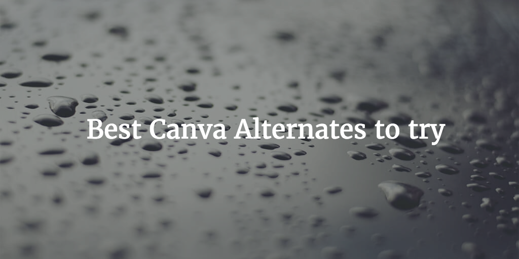 best Canva Alternate