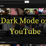 Enable The Dark Mode On YouTube