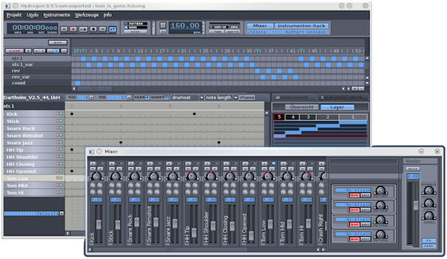 Hydrogen Beat maker software
