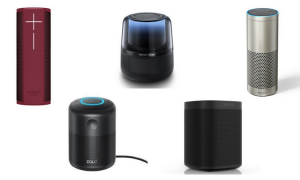 Alexa-powered smart speaker